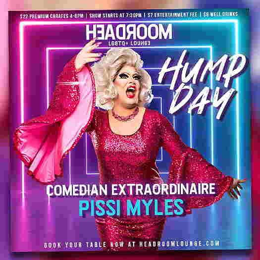 Pissi Myles on flyer