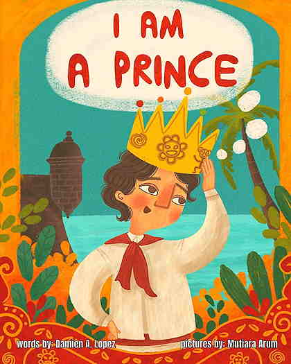 I Am A Prince book cover of a boy wearing a crown