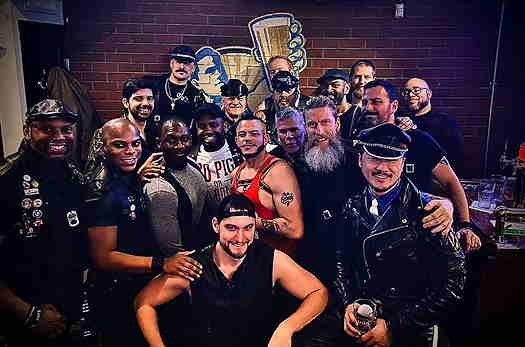 Jersey City Leathermen Meet-Up, group of men dressed in leather