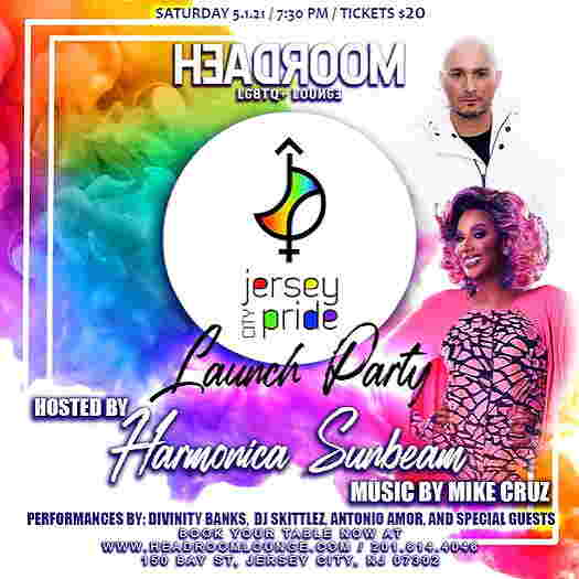 Jersey City Pride: Launch Party flyer