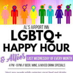LGBTQ Happy Hour at Al's Airport Inn in Ewing Township