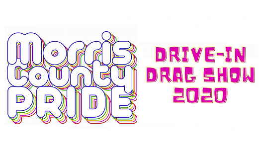 Morris County Pride logo with Drive-In Drag Show listed