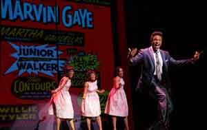 """Motown The Musical"" stars include New Jersey native Jarran Muse."