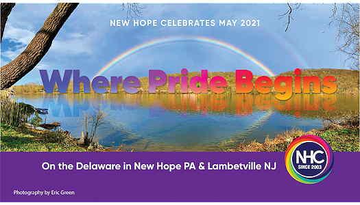 New Hope Celebrates 2021 Pridefest flyer