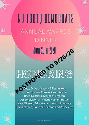 NJ LGBTQ Democrats Award Dinner