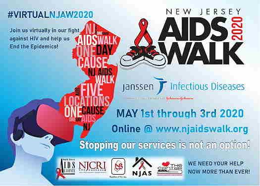 Virtual New Jersey AIDS Walk 2020