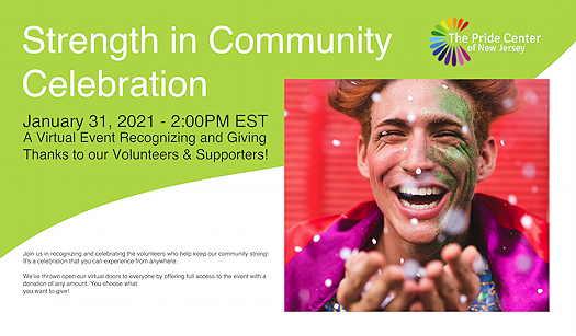 Strength In Community Celebration: A Volunteer Recognition Event flyer