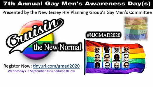 2020 NJ Gay Men's HIV Awareness Month