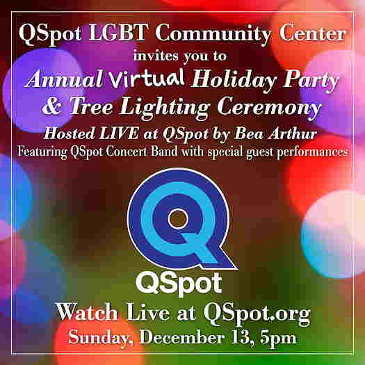 QSpot Holiday flyer