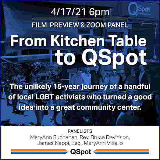 From The Kitchen Table To QSpot flyer