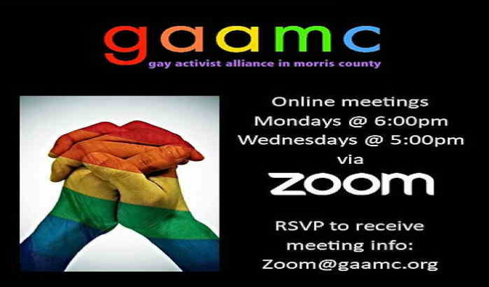 GAAMC Zoomin' online meetings