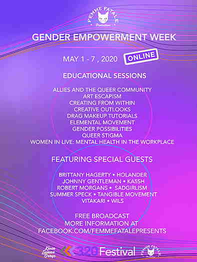 Gender Empowerment Week May 1st to the 7th 2020