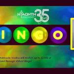Hyacinth Virtual Bingo being held online