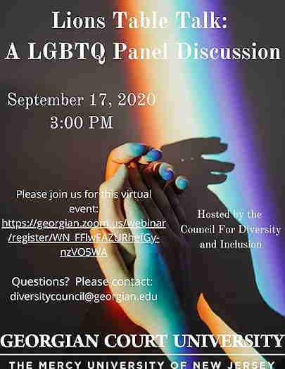 Lions Table Talk: An LGBTQ Panel Discussion being held online