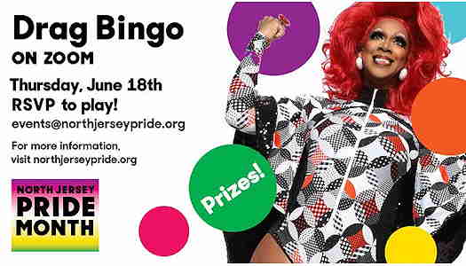 New Jersey Pride Presents Drag Bingo