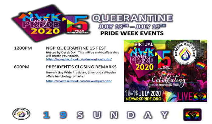 NGP Queerantine 15 Festival an online event