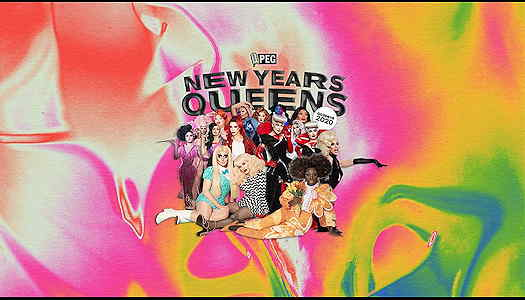 drag queens for NYE show