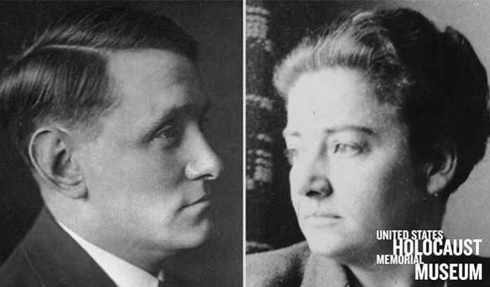 Photo of Willem Arondeus and Frieda Belinfante