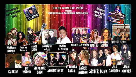 Queer Women of Pride Virtual Music Festival