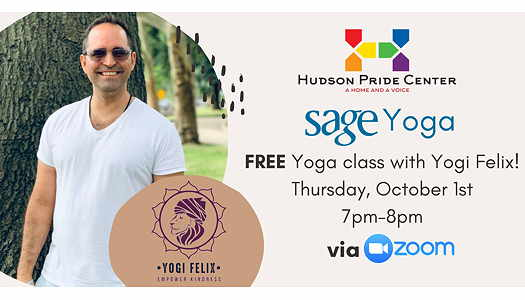 Yogi Felix yoga class