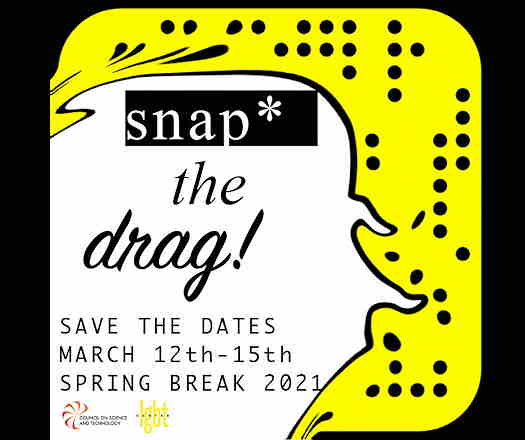 *Snap The Drag flyer