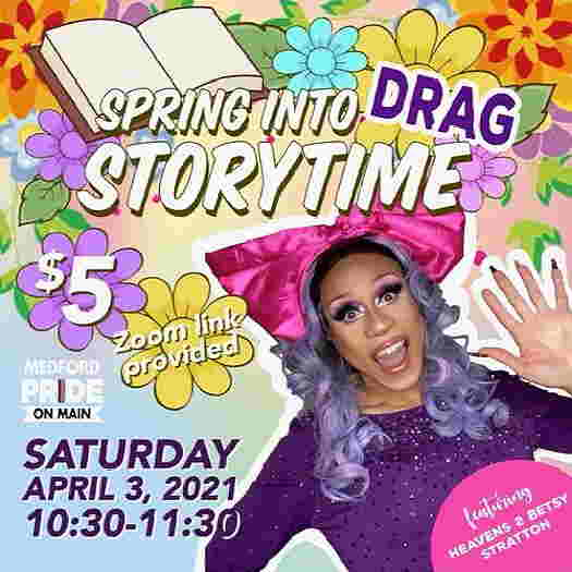 Spring Into Drag Storytime with Heavens to Betsy