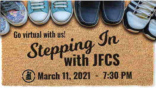 Stepping In With JFCS flyer,