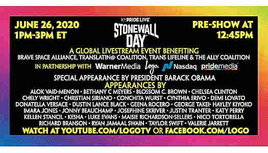 Stonewall Day 2020 Online