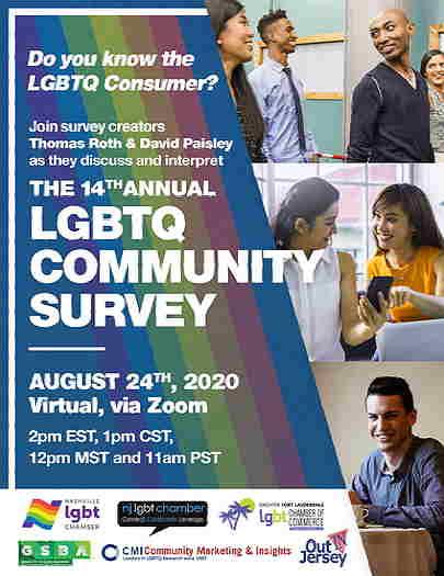 NJ LGBT Chamber Of Commerce 14th annual community survey