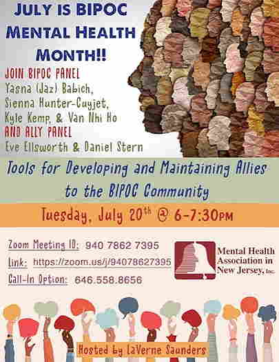 Tools For Developing & Maintaining Allies To The BIPOC Community event flyer