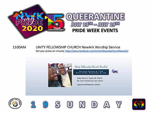 Unity Fellowship Church NewArk Worship Service