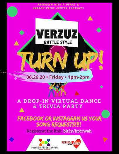 Versus Battle Style: Turn Up! from Hudson Pride Center