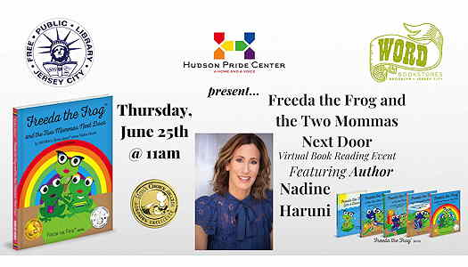 Virtual Book Read: Freeda The Frog And The Two Mommas Next Door