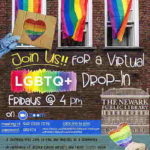 Virtual LGBTQ+ Drop-In Fridays. Weekly online event