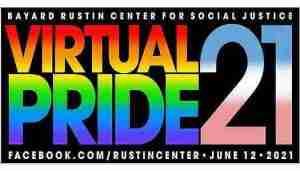 Virtual Pride 2 flyer for 2021