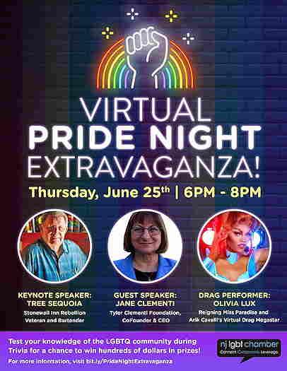Virtual Pride Night Extravaganza