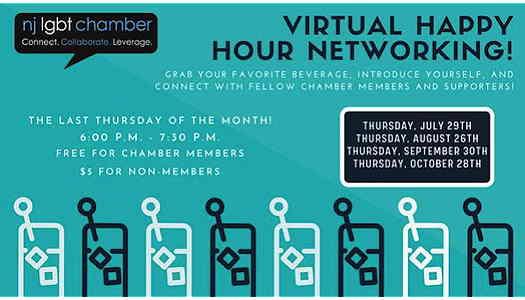 Virtual Thursdays: Happy Hour Networking event flyer