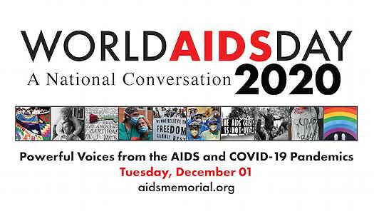 World AIDS Day 2020: A National Conversation flyer