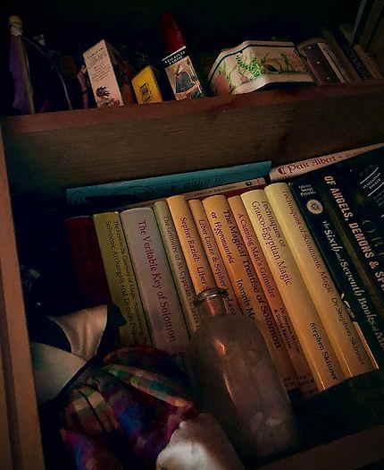 Out of the Broomcloset Bookshelf