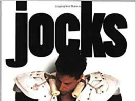 "Book cover of ""Jocks: True stories of America's gay athletes"