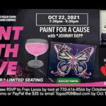 Paint With Love with Johnny Depp (Look A Like) at Regency in Freehold