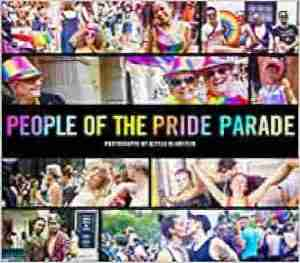 "Book cover of ""People of the Pride Parade"" by Alyssa Blumstein"