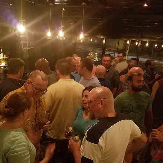 Picture of a group of people at The Fox & Falcon