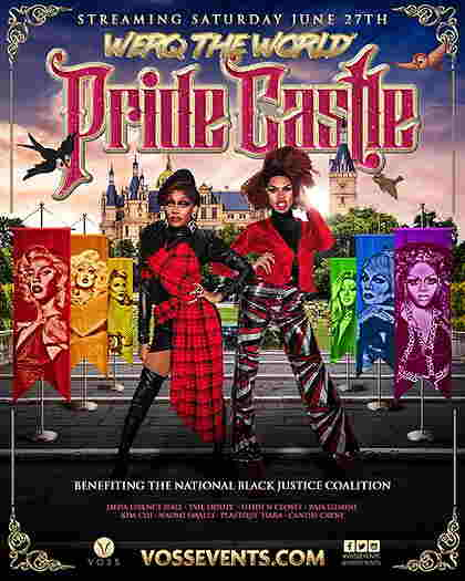 Werq The World: Pride Castle live-streaming event