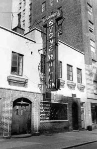 Photo of the outside of the Stonewall Inn, New York City