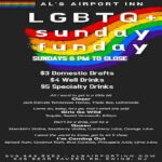 LGBTQ+ Sunday Funday at Al's Airport Inn in Ewing Township