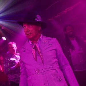 Older gentleman in a nightclub