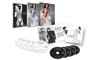 The Best Of Cher pictured items in box set