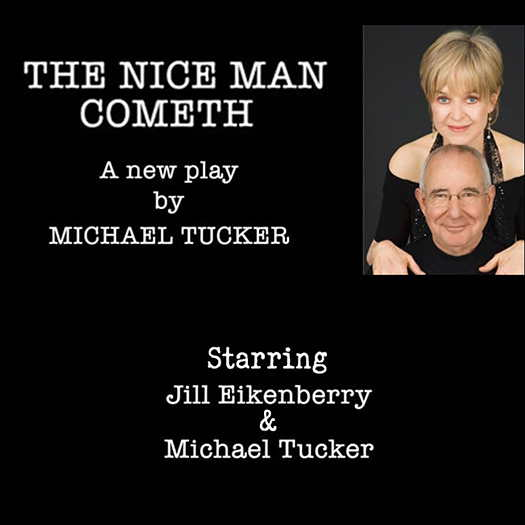 The Nice Man Cometh flyer with the two actors