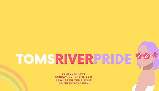 Toms River Pride 2021 event logo
